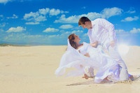 A Selection of J-Bay Beach Wedding Images.