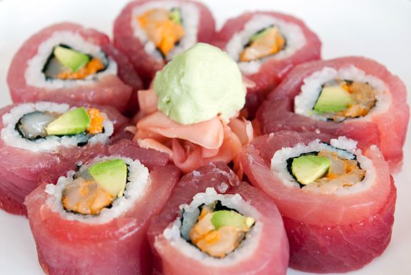 Plum Blossom Sushi Roll | Food: Meals | Pinterest