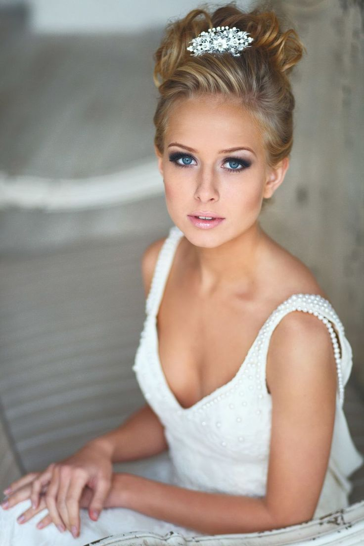 191 best images about Bridal Make-up on Pinterest | Hairstyles ...