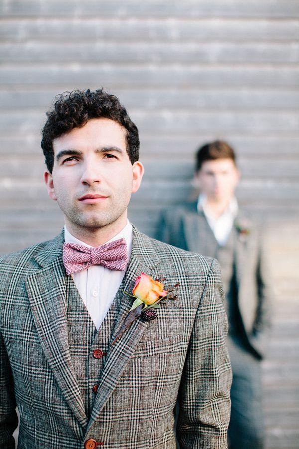 Gay wedding inspiration, Autumn wedding, outdoor wedding - #matthewoliver & #hayleysavagephotography