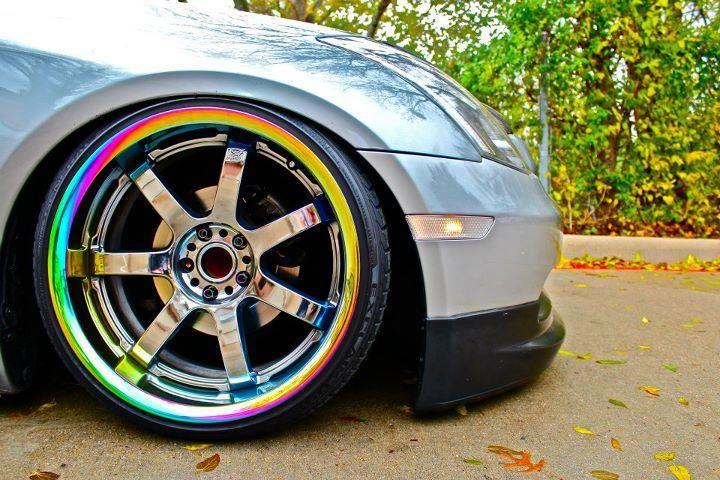 rainbow rim