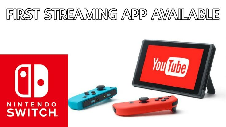 Nintendo Switch Gets Its First Video Streaming App