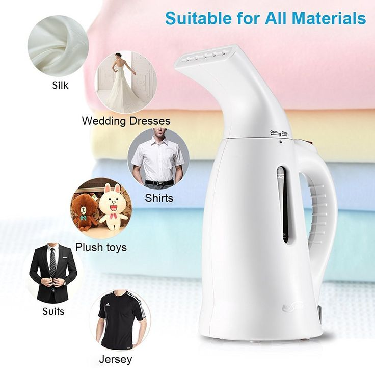 Housmile Garment Steamer Portable Handheld Fabric Steamer Fast Heat-up Powerful Travel Garment Clothes Steamer with High Capacity for Home and Travel