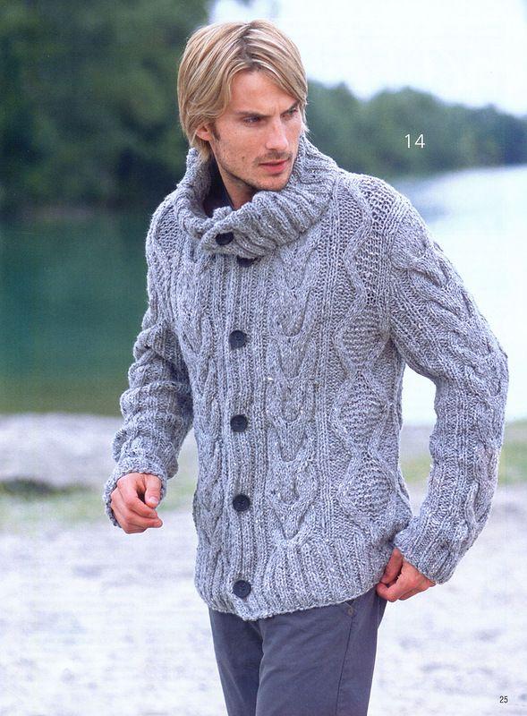 Сабрина. Спецвыпуск № 11 2011 Вязаная мода для мужчин - Журнал