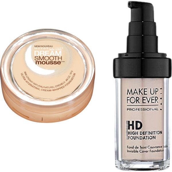 Dream Smooth Mousse + HD Makeup Forever creates the perfect foundation. Extra perk: the expensive stuff lasts twice as long!