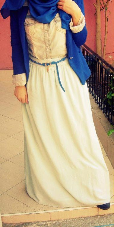hijab fashion @Duaa ALThaher this outfit would suuuiit you :D