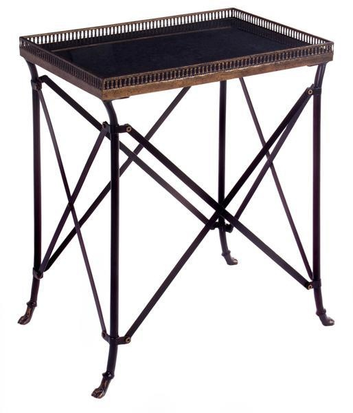 Rectangular Black Accent Table Occassional Accent Tables