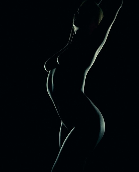 Bodyscape modeling that was featured in Andy G. Williams' photography exhibition!