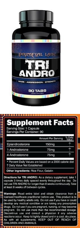 Protein Shakes and Bodybuilding: Primeval Labs Tri Andro Supplement Muscle Mass And Strength Nutrition. Triandro -> BUY IT NOW ONLY: $92.95 on eBay!