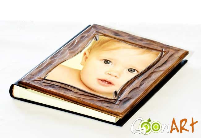 Realizza il tuo album dalla copertina in legno intarsiata a mano.  I tuoi ricordi acquistano valore con Goonart.it!