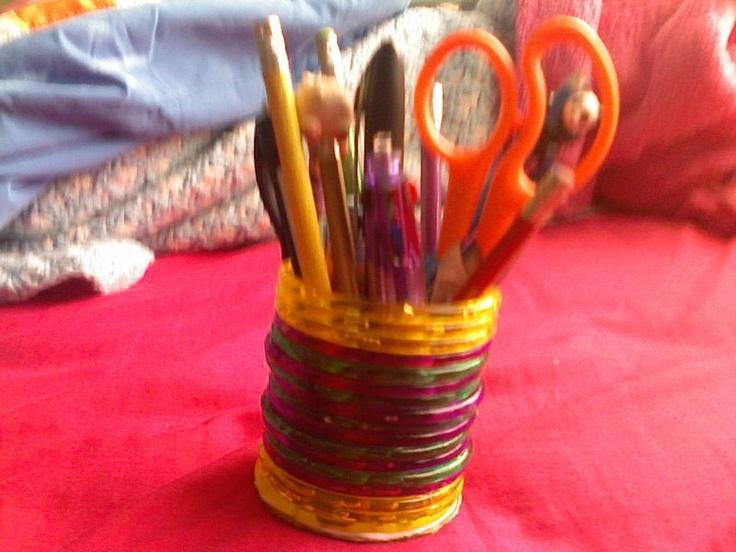 Big Bangle, Hamster Tube, Pencil Jar