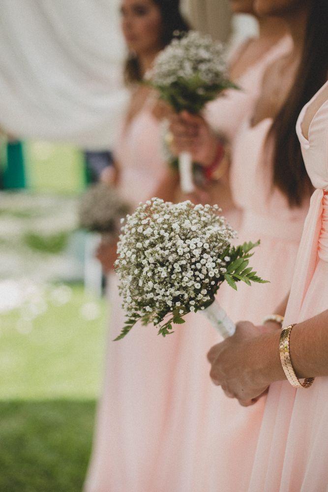 Inspiración de bouquets para madrinas y bridesmaids