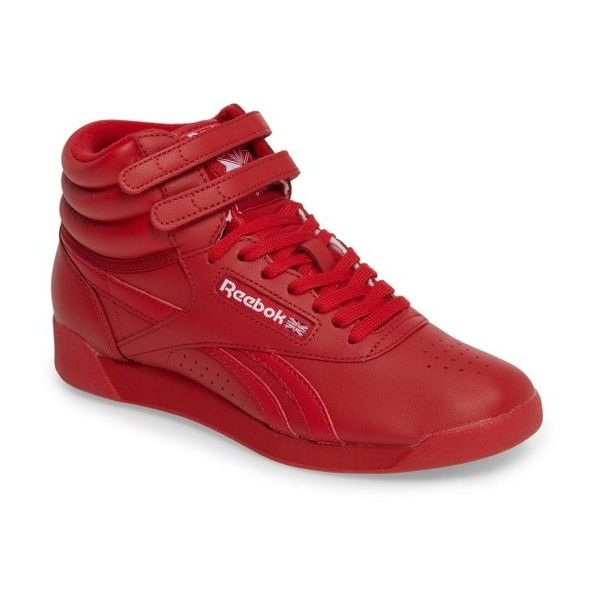 red high top reebok classic