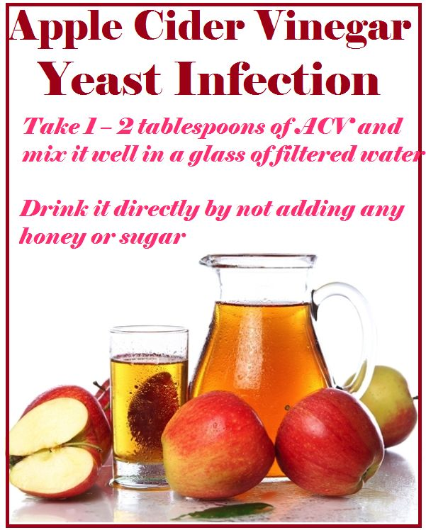 Natural Cure Yeast Infection Apple Cider Vinegar
