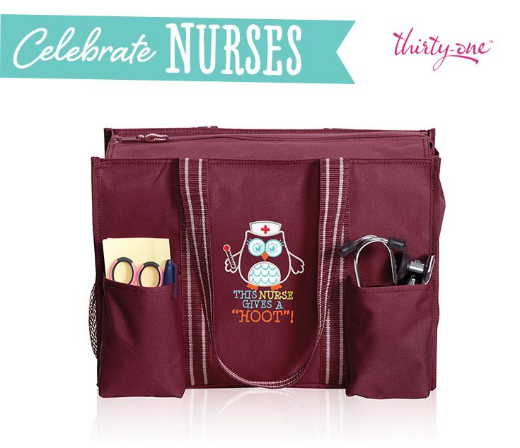 Thirty One Is Celebrating Nurses All Summer Long With Our Organizing Utility Tote