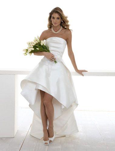 Sposa in corto: l'abito perfetto per un matrimonio in comune: Foto - Di•Lei - Donne