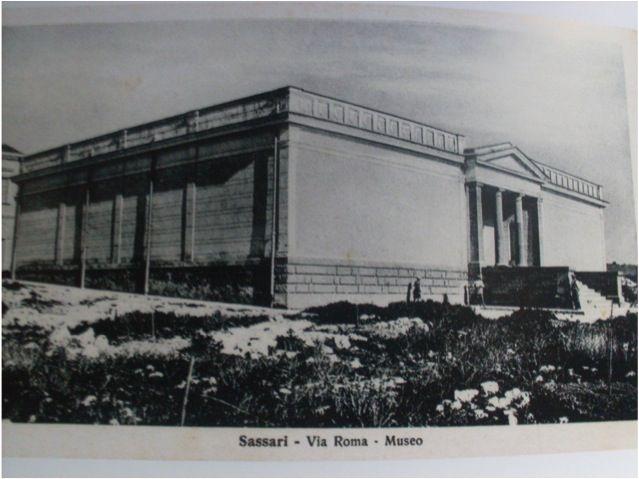 """Il Museo prima del Museo. Il cd """"Vecchio Museo"""", edificio costruito tra il 1928 e il 1932 su progetto di Carlo Maria Busiri Vici per volontà della figlia di Giovanni Antonio Sanna, Zely Castoldi"""