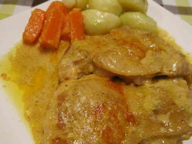インド風☆鶏モモ肉の煮込みの画像