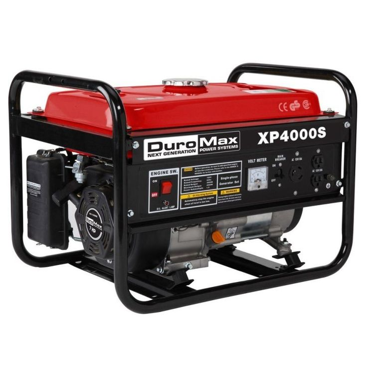 Best Portable Generator Reviews - 2017 - Duromax XP4000S