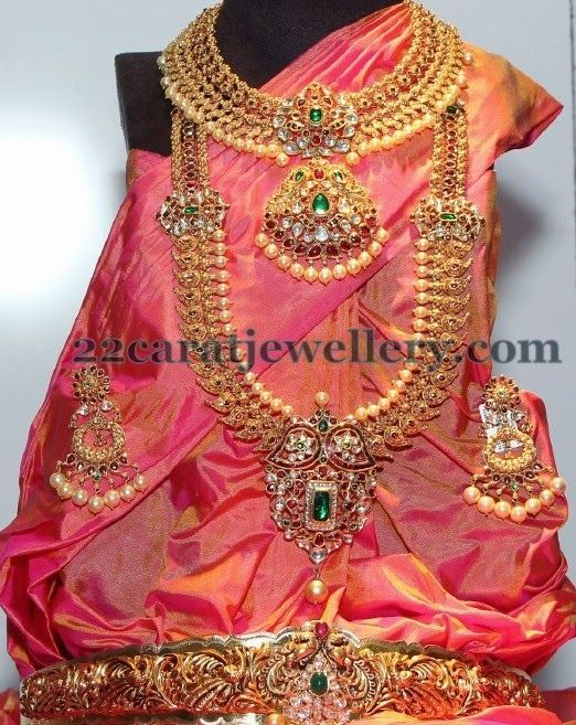 Complete Wedding Jewelry by Vasundhara | Jewellery Designs