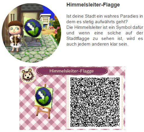 Himmelsleiter Flagge by Hanne