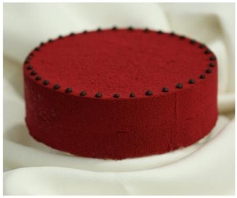 Red Lady Velvet Cake for events in Bali