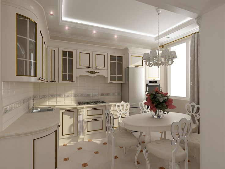 Кухни светлые фото дизайн