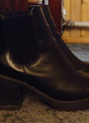 Kup mój przedmiot na #vintedpl http://www.vinted.pl/damskie-obuwie/botki/12923883-czarne-botki-deezee-40