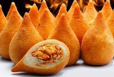Coxinha de Frango: brazilian fried chicken dumpling