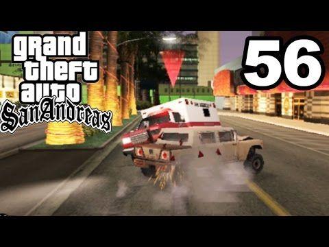 GTA San Andreas | AMBULANCE VS ARMY VEHICLE #56