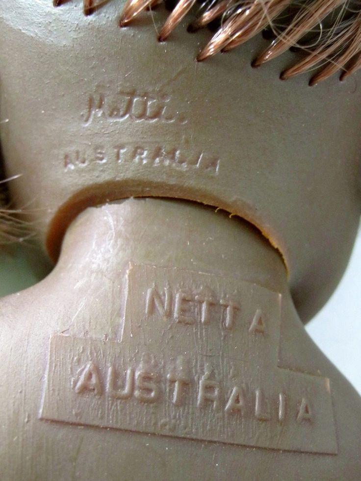 Vintage Bindi Aboriginal doll from 1970s - marked both Metti & Netta, Australia | eBay