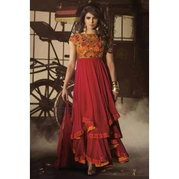 Are you a huge Priyanka Chopra fan? Then yes, you're on the right page. Just at the click of a button you can own some of her most beautiful outfits, available only on NineColours. #fashion #style #love #beautiful #instagood #instafashion #pretty #girly #outfit #shopping #sarees #suits #lehengas #wedding #indian #traditional #bridal
