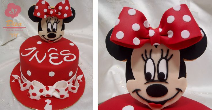 Minnie cake, girl, cute