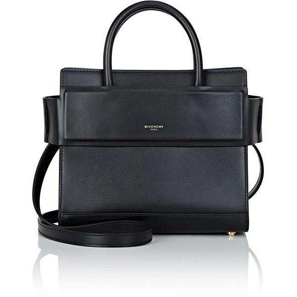 Givenchy Women's Horizon Mini-Crossbody Bag ($1,990) ❤ liked on Polyvore featuring bags, handbags, shoulder bags, black, mini cross body handbags, mini crossbody handbags, crossbody purses, mini crossbody and mini purse