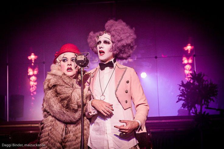 Le Pustra and Miss Annabel Sings by Maizucker / Kabarett der Namenlosen March 2016