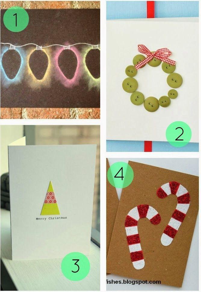8 Homemade Christmas Card Ideas
