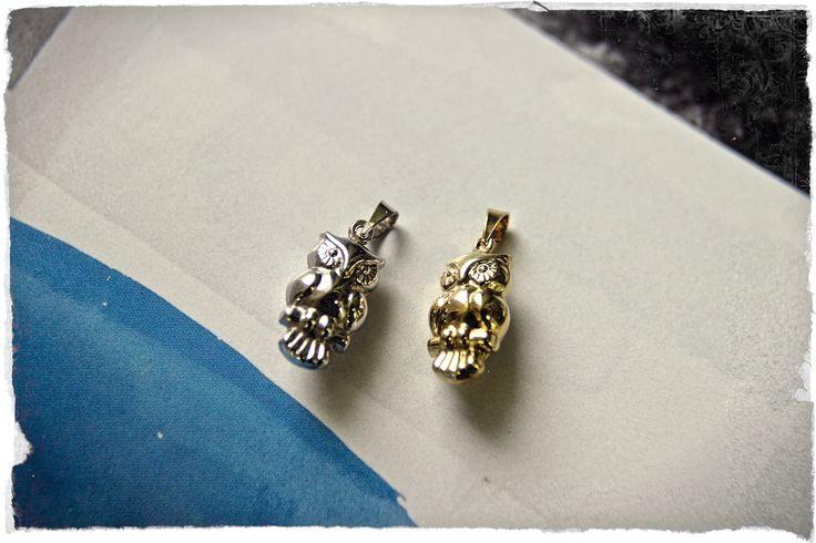 【2015 FW new collection】UNOAERRE Italian Jewelry フクロウチャーム¥30,000+tax