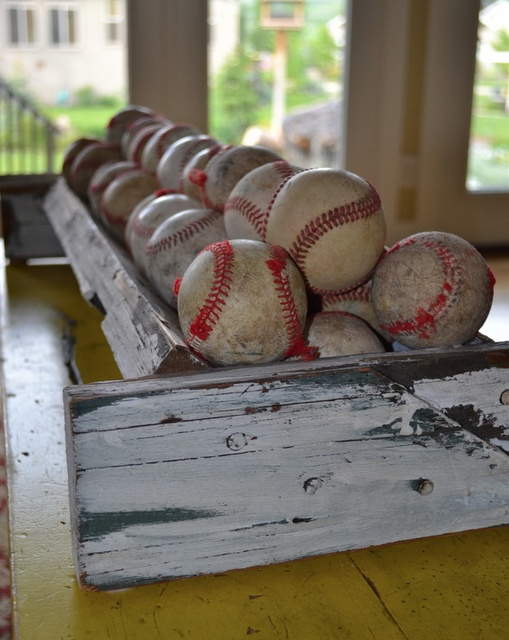 Nothing Like An Old Used Baseball