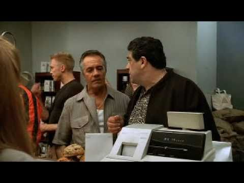 Paulie tries to order just coffee...    Watch The Sopranos online.  http://www.watch-sopranos.com