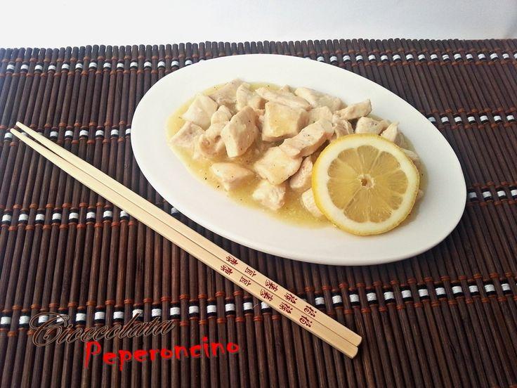 pollo orientale al limone