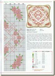 3 -    ༻❁༺ ❤️ ༻❁༺ Almofadas em  Ponto Cruz com Flores -  /     ༻❁༺ ❤️ ༻❁༺ Cushions Pad into Cross Stitch Chart  with Flower -