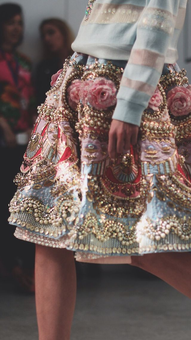 details. embellishment Manish Arora SS 2015. More beautiful dresses, fast delivery: http://999dresses.blogspot.com/