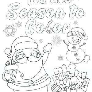 father christmas colouring pages new free christmas