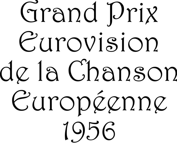Eurovision Song Contest 1956 – Wikipedia