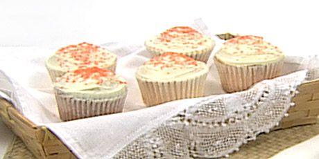 Tangerine Cupcakes by Anna Olson