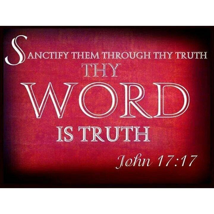 {John 17:17}    Truth never changes...it endures forever