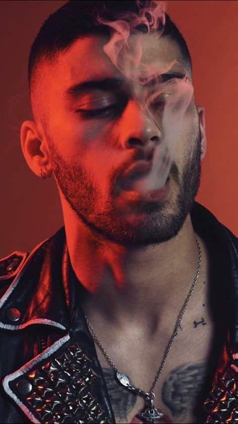 // Zayn // smoking a blunt...✨