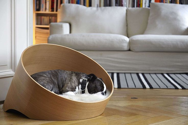 Designed by Uta Cossman for MiaCara, the Covo dog bed has been created to keep your four-legged friend comfortable without disrupting your modern home decor.
