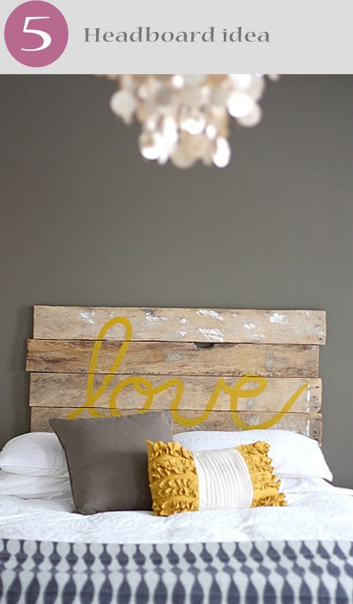 love!!! (please notice the classy chandelier with the re-purposed headboard, Shabby Chic!)