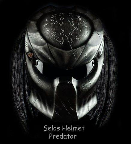 Helmet Street Fighter-Black | AnnaHelmetindonesia -  on ArtFire
